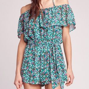 Jack by BB Dakota off the shoulder romper